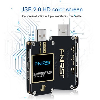 FNB38 Current And Voltage Meter USB Tester QC4+ PD3.0 2.0 PPS Fast Charging Capacity Test