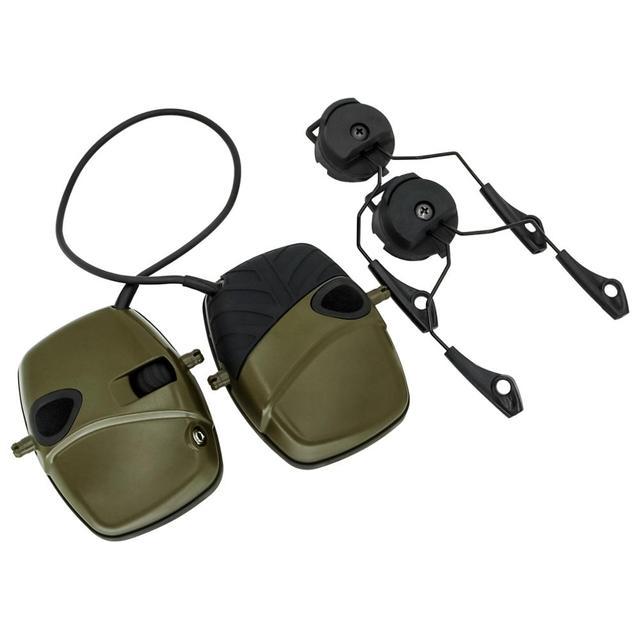 Фото arc track шлем крепление гарнитура тактическая электронная съемка цена