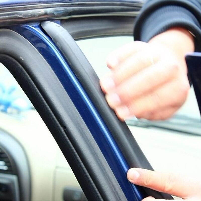 Универсальный 2 шт. автомобильный Стайлинг B уплотнение столба полоса стикер звукоизоляция водонепроницаемый уплотнительный стикер Внешни...