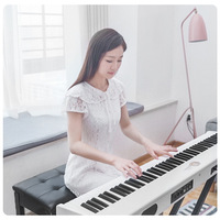 Portable electric steel 88 key heavy hammer home children beginners intelligent digital electronic piano musical instrument