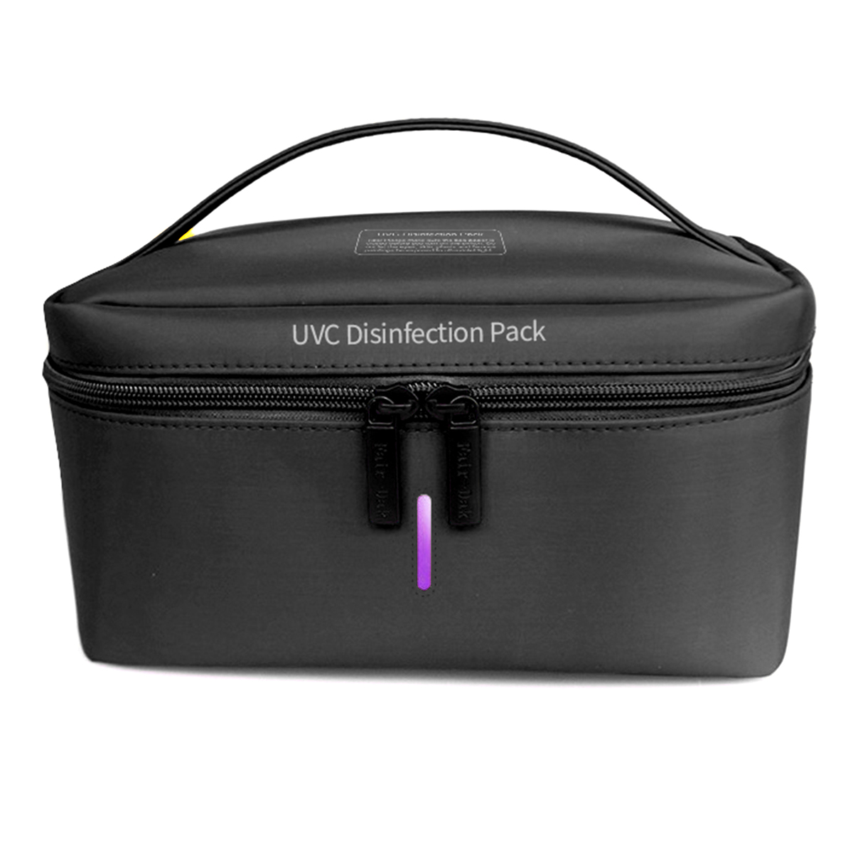 Portable UV Sterilizer Bag Uvc Disinfect Pack Clothes Sterilization Bag Phone Mask Sterilizer Box LED UVC Disinfection Lamp