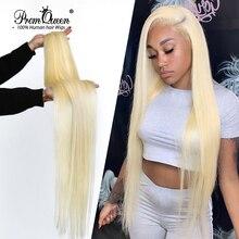 Прямые бразильские пряди волос Promqueen 613, накладные пряди 9A, длинные волосы 30 дюймов, прямые светлые пряди