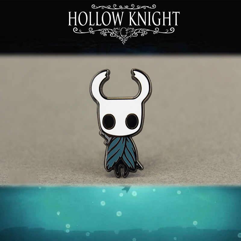 Game Hollow Knight Emaille Pin Wanderer Revers Hornet Cosplay Badge Metalen Broche Gift