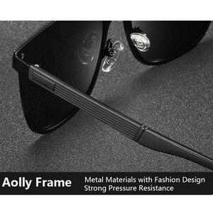Image 4 - Kateluo 2020 Classic Vrouwen Oversized Zonnebril Gepolariseerde UV400 Lens Zonnebril Voor Vrouwen Glazen Voor Rijden 8033