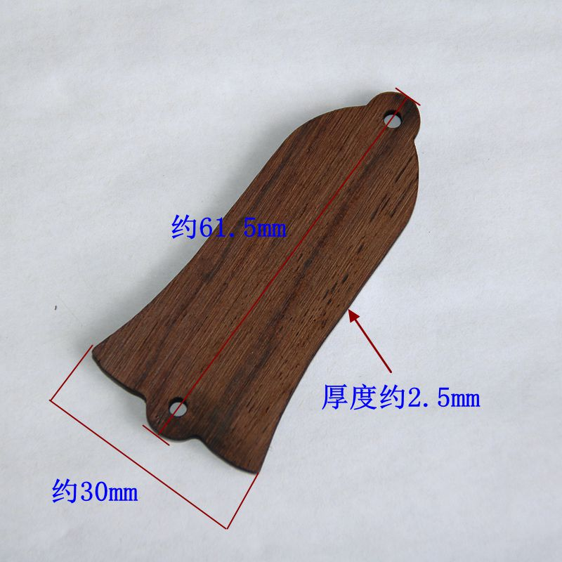 2 Pieces Wooden Guitar Truss Rod Covers For Acoustic//Electric Guitar