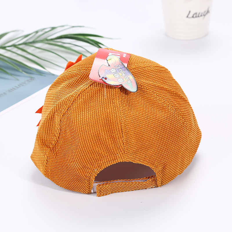 H8cb407ba38494df3a99f0bb6a59f56b3G - Spring Autumn Baby Baseball Cap Cartoon Dinosaur Baby Boys Caps Fashion Toddler Infant Hat Children Kids Baseball Cap