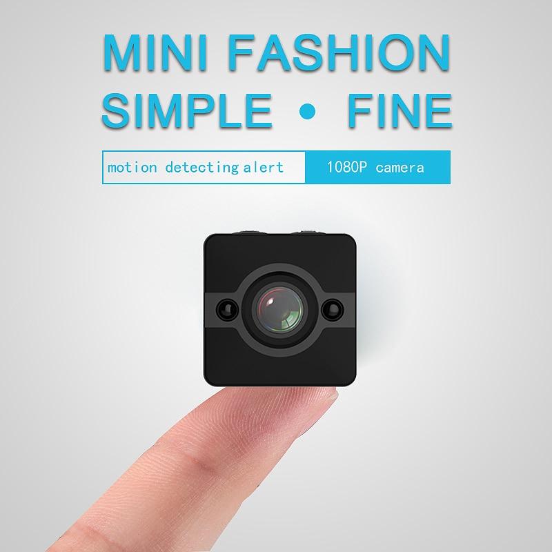 1080 SQ12 Mini caméra étanche nuit Mini caméra grand angle lentille sport caméra prend en charge 32G TF carte accueil accessoires
