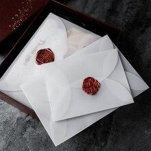 Sulfuric-Acid-Paper-Envelopes Gift Packing Semi-Transparent Wedding-Invitation Postcard/card-Storage