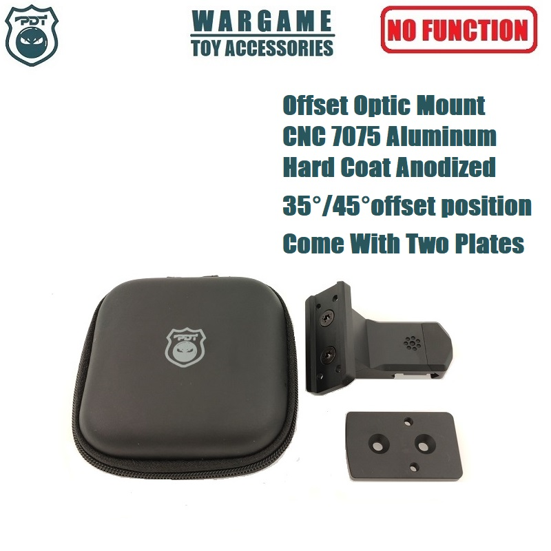 ARISAKA OFFSET OPTIC MOUNT for Red Dot Sights Aimpoint Micro T1 T2 H1 H2 Trijicon RMR SRO SIG Romeo 5 Holosun HS403 HS503 HS515 image