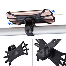 Support Bicycle Mobile Phone Holder Motorcycle Cell Bracket Stand Mount Silicone Bike For iPhone GPS Device