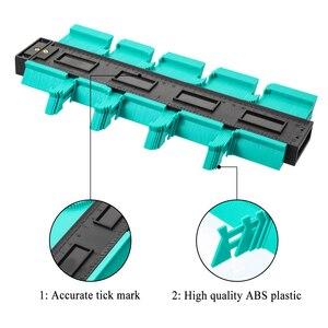 Image 3 - Plastic Copy Contour Gauges 12/14/25/50cm Contour Gauge Standard Wood Marking Tool Tiling Laminate Tiles Household Tools
