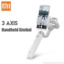 Xiaomi ручной карданный 3-осевой Стабилизатор-осевой стабилизатор для экшн Камера смартфон Поддержка вертикальный режим