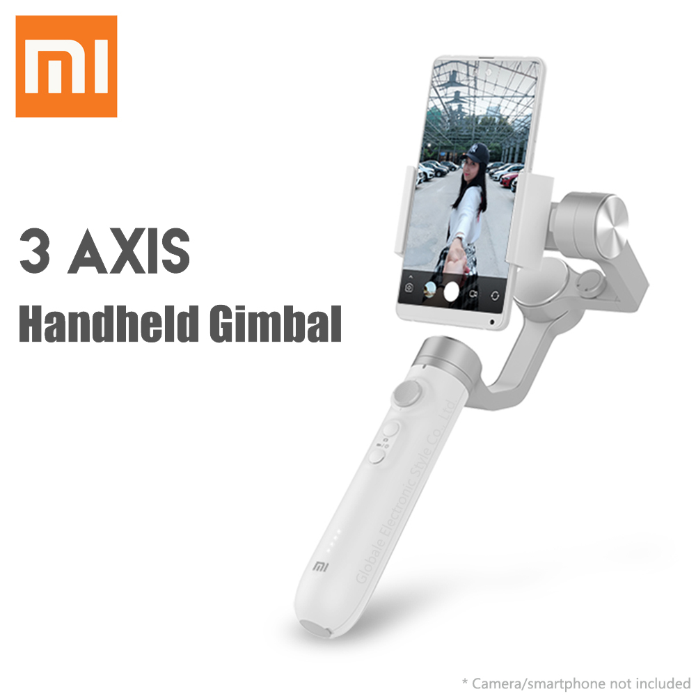Xiaomi Handheld Gimbal 3-Axis Stabilizer For Action Camera Smartphone Support Vertical Mode