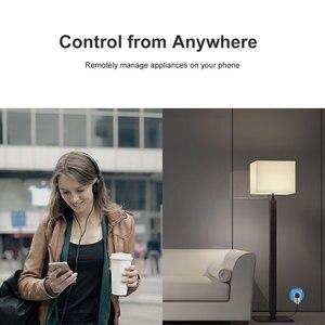 Image 2 - Itead Sonoff S26 Smart Wifi Socket Cn Au Uk Us Eu Br Het Draadloze Afstandsbediening Schakelaar Via Ewelink Werkt met Alexa Google Thuis