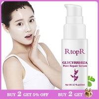 RtopR Glycyrrhiza Gesicht Poren Reparatur Serum Kollagen Gesicht Anti Falten Bleaching Creme Öl Control Feuchtigkeitsspendende Effektive Schrumpfen Poren