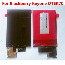 ใหม่ทดสอบดีสำหรับBlackBerry KEYone DTEK70 Key OneจอแสดงผลLCD Digitzer + Touch Screen 1620*1080 4.5 แผงกระจก