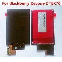 Nova Testado Bem Para BlackBerry KEYone DTEK70 Chave One Display LCD Digitzer Assembleia + Touch Screen 1620*1080 4.5 tela do painel de Vidro