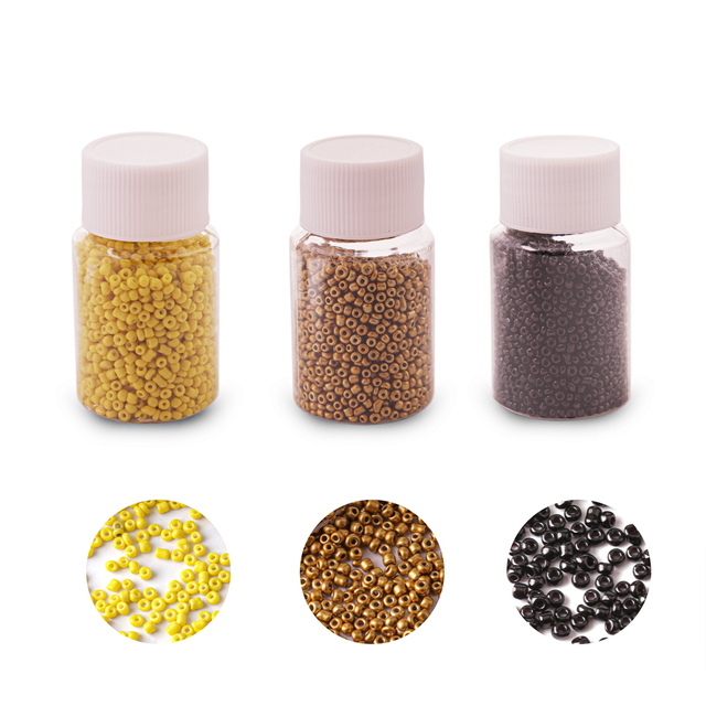 2000pcs/Bottle 2.5mm Small Glass Miyuki beads 22 Colors Seed bead Jewelry Material For Making Necklace Bracelet Jewelry Findings