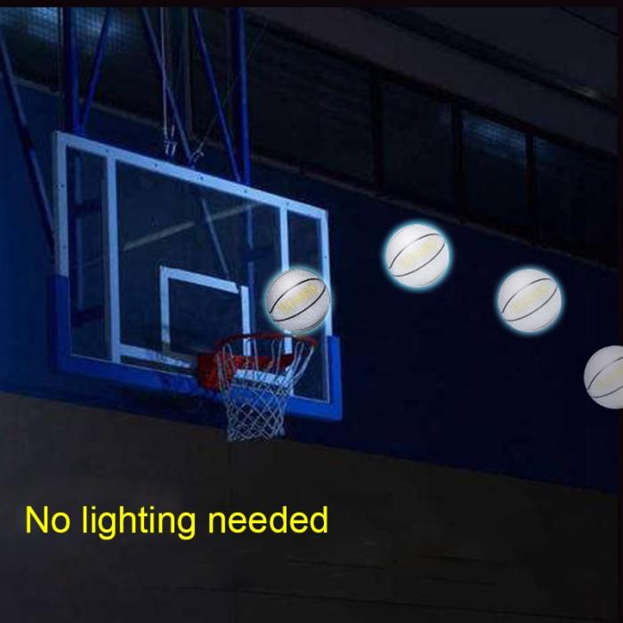 Recém tamanho 5 7 de basquete brilhante