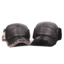 Baseball-Cap Elderly Warm-Hats Thick And Fashion Outdoor Men Ear-Protection Capsmiddle-Aged