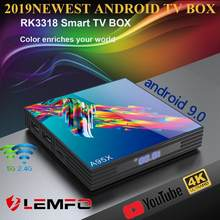 A95X R3 RK3318 9.0 Android TV Box 4GB RAM 64GB 32GB 4K 2.4G/5G WiFi USB3.0 Google Netflix Youtube lecteur multimédia décodeur(China)
