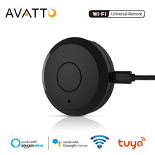 Avatto Wifi IR Remote Controller Smart Universal 2.4G Remote Kontrol Suara dengan Alexa, google Home Infrared Smart Home Automation(China)
