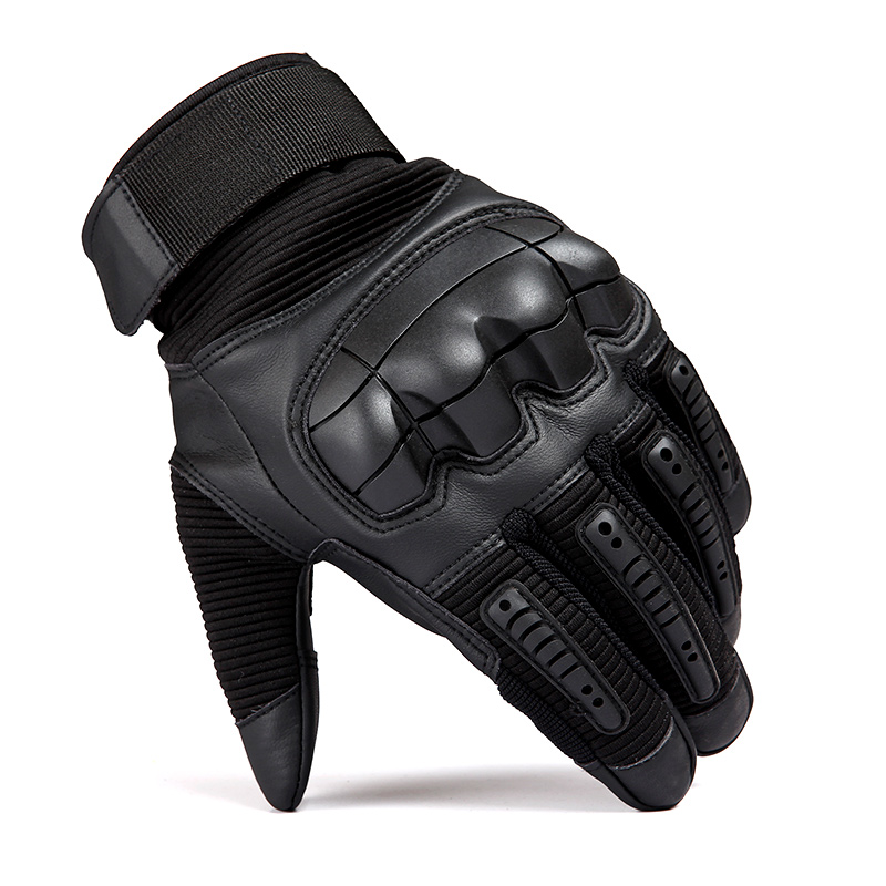 Motorcycle Gloves Windproof Winter Warm Leather Military Tactical Gloves Touch Screen Hunting Cycling Riding Protective Gloves