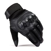 Motorcycle Gloves Windproof Winter Warm Leather Military Tactical Gloves Touch Screen Hunting Cycling Riding Protective Gloves madbike motorcycle cycling gloves for touch screen black blue size xl pair