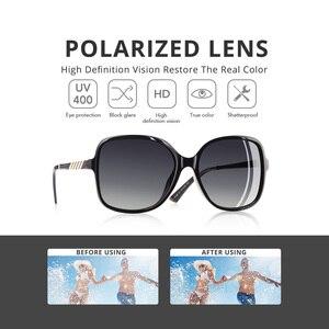 Image 2 - AOFLY Brand Design Sunglasses Women Oversized Square Frame Polarized Sun Glasses Female Luxury Ladies Eyewear zonnebril dames