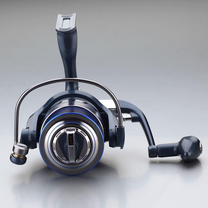 YUMOSHI JF5000 5.5: 1 12+1 Ball Bearing Left/Right Metal Handle Non-gap Fishing Spinning Reel