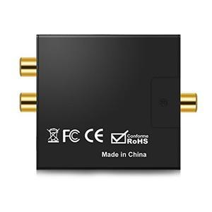 Image 4 - Coaxial Fiber Decoder Toslink Digital to Analog L/R RCA Jack Audio Converter 3.5mm Jack Optical  Channel Spdif Stereo For HDTV