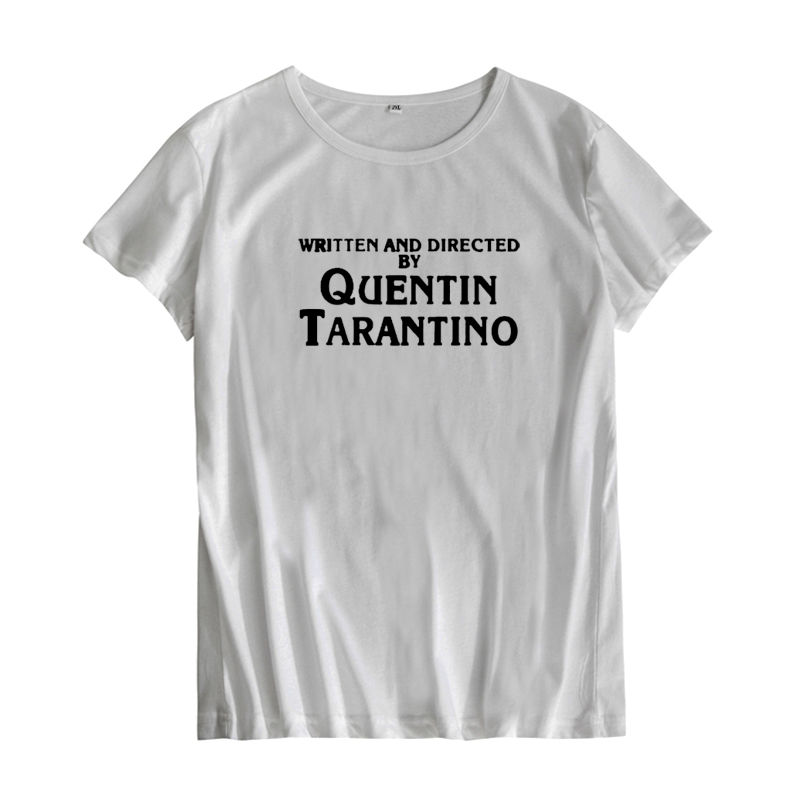 femmes-t-shirt-hipster-noir-blanc-imprime-quentin-font-b-tarantino-b-font-femmes-vetements-mode-lettre-t-shirt-couverture-en-coton-t-shirt-homme