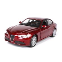 1:24 2016 Alfa Romeo Giulio diecast car models brinquedos Kids Toys gift for children