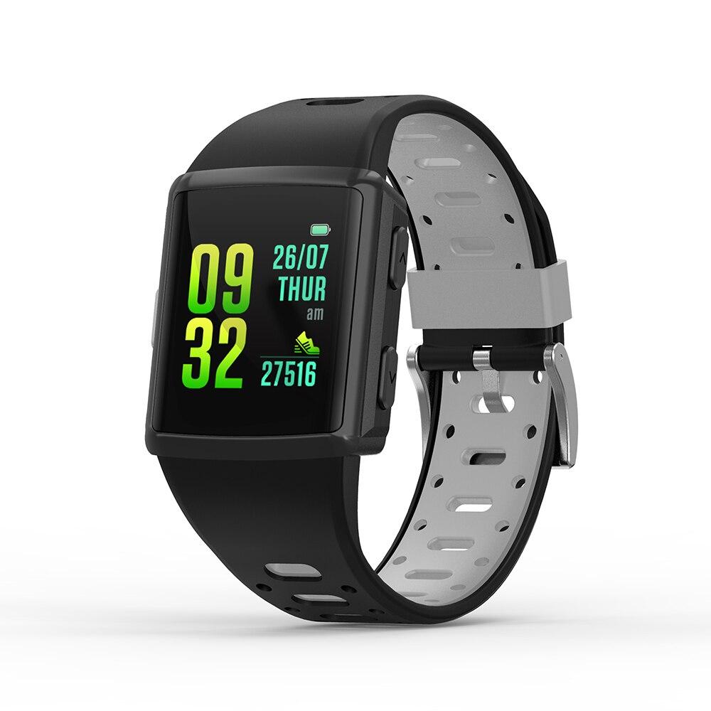 SMA-M3 GPS Smartwatch 1.3 pouces IPS écran Bluetooth 4.0 montre fréquence cardiaque sommeil moniteur podomètre horloge étanche montre intelligente hommes