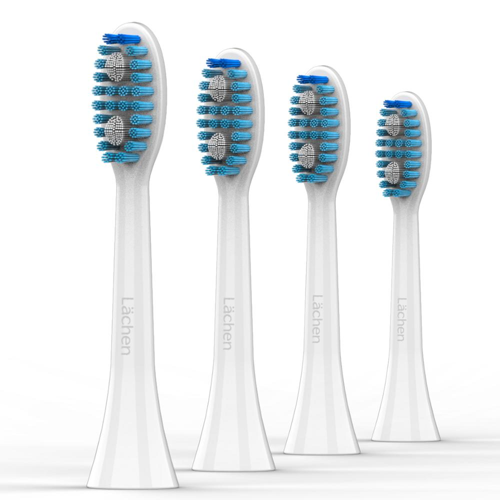 Lachen 4 Pieces S121 Sensitive Brush Heads Replacement Brush Head For Lachen Electric Toothbrush For LashenT5B T7B T8B  031
