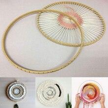 DIY Wooden Hand Knitting Machine Handmade Wall Ornaments Circular Knitting Tools Wool Crocheting Tools 1pcs