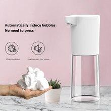 500ml automático dispensador de sabão líquido inteligente sensor touchless mão lavagem dispensadores para cozinha banheiro inteligente formação de espuma