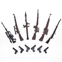 """6 12 pçs/set 1:6 Escala 1/6 """"Figuras de Ação Modelos Arma Arma Brinquedos G43 Sinper Rifle Tático Gun Para 1/100 MG Bandai Gundam Modelos"""