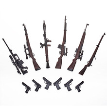 6pcs/set 1:6 Scale 1/6 12 Action Figures Gun Models Weapon Toys G43 Sinper Rifle Tactical For 1/100 MG Bandai Gundam