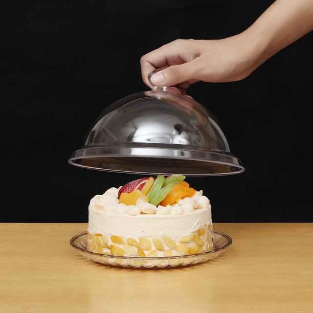 Transparent Round Cake Stand