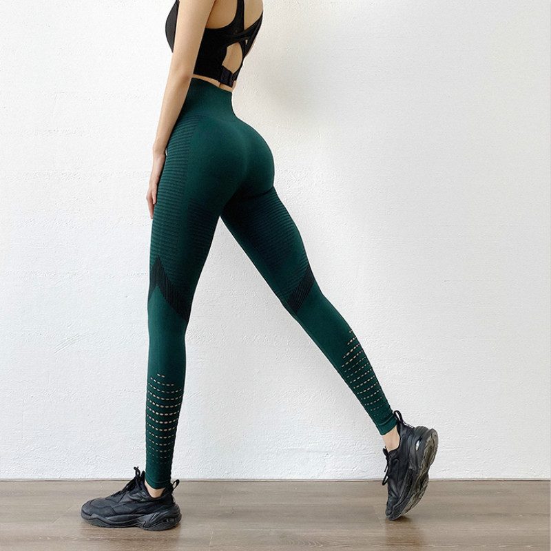 Fashion High Waist Fitness Leggings Women's Push Up Leggins Mujer 2020 New Workout Jeggings Femme