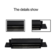 Game Accessories For Game Cartridge Card Slot Connector 72 Pin Heat Resistant For NS Entertainment System For NES 8 Bit Console