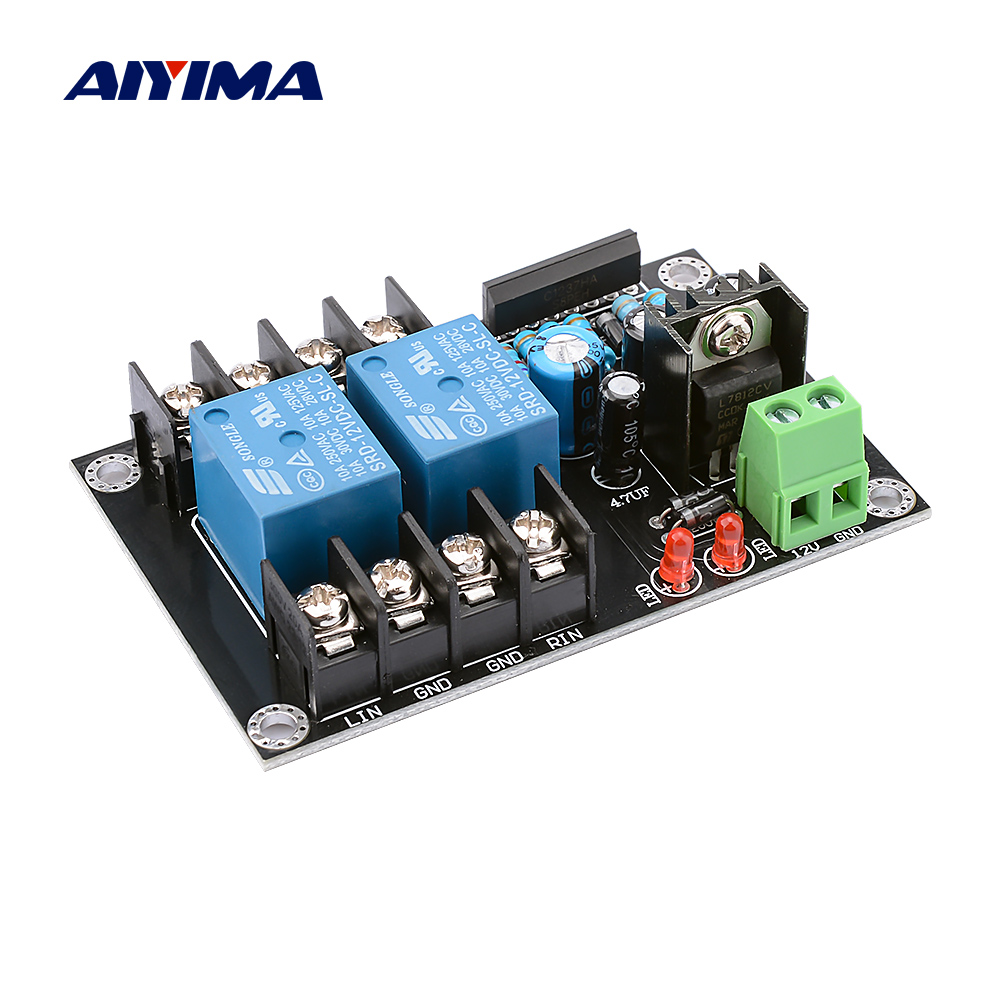 AIYIMA UPC1237 2.0 Speaker Protection Board 300Wx2 For 1875 LM3886 TDA7294 Power Amplifier DIY