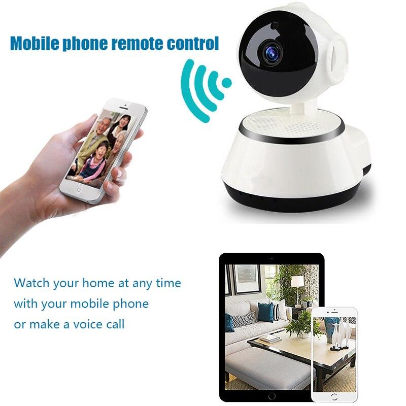 ТВ-шкаф 720P HD беспроводная Wifi ip-камера домашняя камера видеонаблюдения широкоугольная крытая камера Поддержка ночного видения