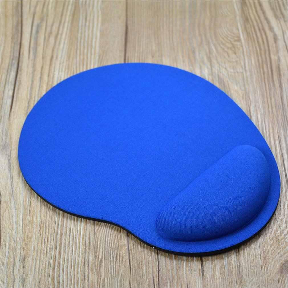 Kecil Kaki Perlindungan Lingkungan EVA Pergelangan Tangan Mouse Pad Permainan Komputer Kreatif Warna Solid Baru Logo Kustom