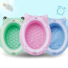 Baby Inflatable Bath Tub Newborn Toddler Swimming Bath Tub Lying Can Sit Thickening Child Bathtub