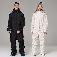 Ski Suit for Men Women 30°C Warm Jumpsuit Ski Set Female Ski Jacket And Pants Male Waterproof Skiing And Snowboarding Snowsuit