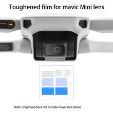 For DJI Mavic Mini Drone Camera Lens Protective Film Screen Cover Protector Accessories 2set HD Ultra thin Tempered Glass Film camera lens protective film for dji mavic air 2 tempered glass film anti scratch screen protector for mavic air 2 accessories