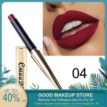 CmaaDu 12 Colors Bullet Waterproof Matte Lipstick New Explosion Lip Gloss  Tint Pencil Sexy Plum Makeup Beauty Tools