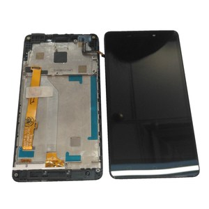 "Image 3 - Original 5.0"" For Lenovo VIBE P1M  P1Ma40 P1mc50 LCD Display +Touch Screen Digitizer Assembly For P1Ma40 P1mc50 LCD with Frame"